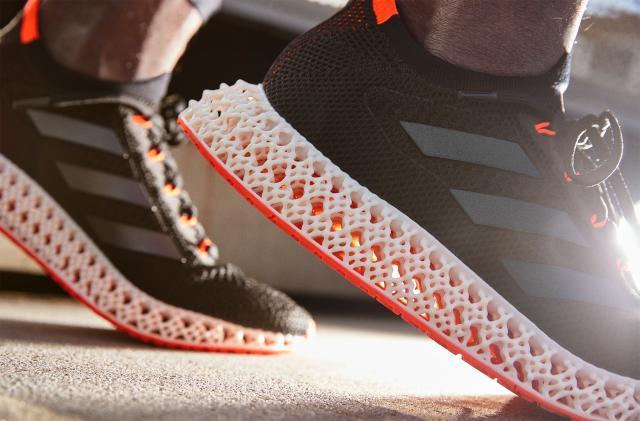 Adidas' latest 3D-printed soles flex to push you forward