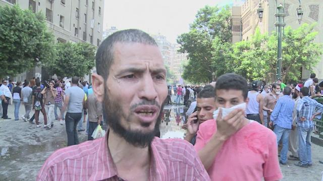 Police, protesters clash outside US embassy in Cairo