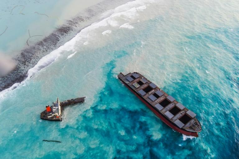 """The Mauritian government has vowed to seek compensation from the ship's Japanese owner and insurer for """"all losses and damages"""" related to the oil spill disaster"""