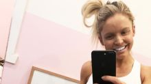 Woman 37 weeks pregnant challenges husband to workout, totally beats him