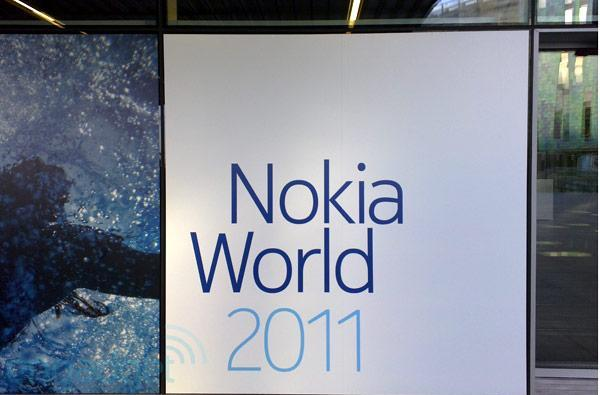 We're live from Nokia World 2011!