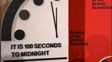 """""""Weltuntergangsuhr"""" steht nur noch 100 Sekunden vor Mitternacht"""