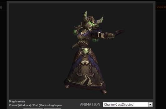 Blood Pact: Look Dreadful with PvP gear for warlocks