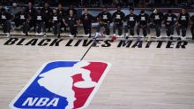 Raptors kneel before national anthems with focus on ending systemic racism