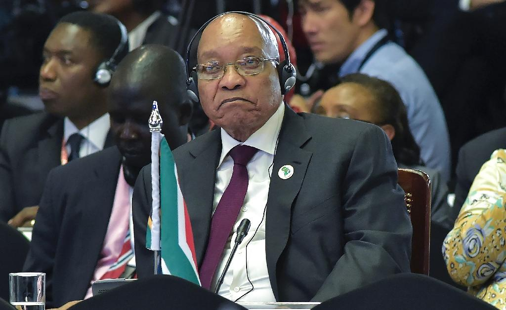 South Africa's Africa National Congress (ANC) has been rocked by poor recent local election results largely blamed on President Jacob Zuma's leadership (AFP Photo/Simon Maina)
