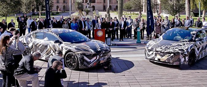Lucid Motors building $700 million EV factory in Arizona