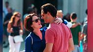 WOWtv - Michelle Dockery Kisses a Mystery Man During a Romantic Day Out in Venice