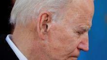 An emotional Biden bids farewell to Delaware on his way to White House