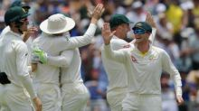 Overton strikes twice to boost England after first-innings 403