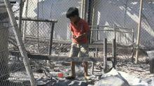 """""""Was sollen wir machen?"""": Verzweiflung nach Brandkatastrophe in Flüchtlingslagfer Moria"""