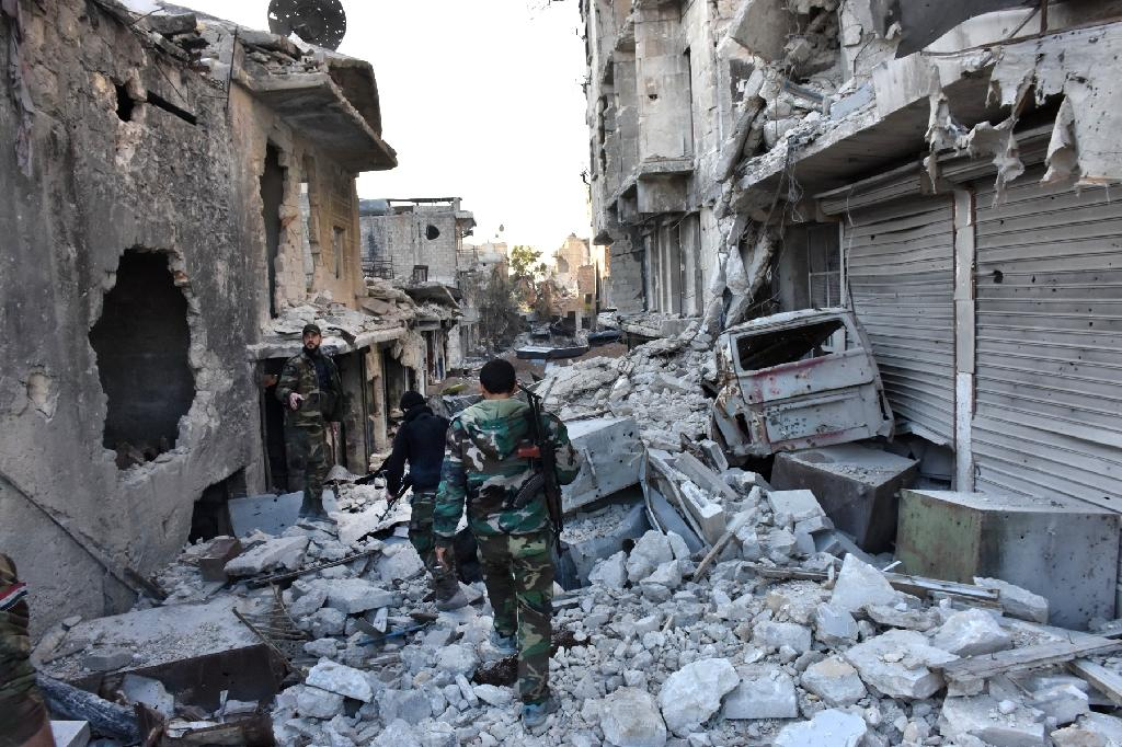 More than 330,000 people have been killed in Syria since the conflict began in March 2011 (AFP Photo/GEORGE OURFALIAN)