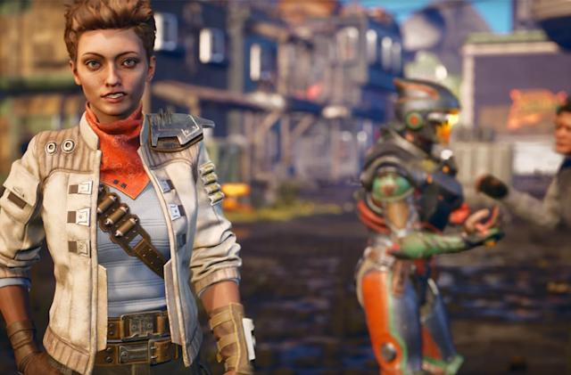 Obsidian's 'The Outer Worlds' is basically 'Fallout' in space