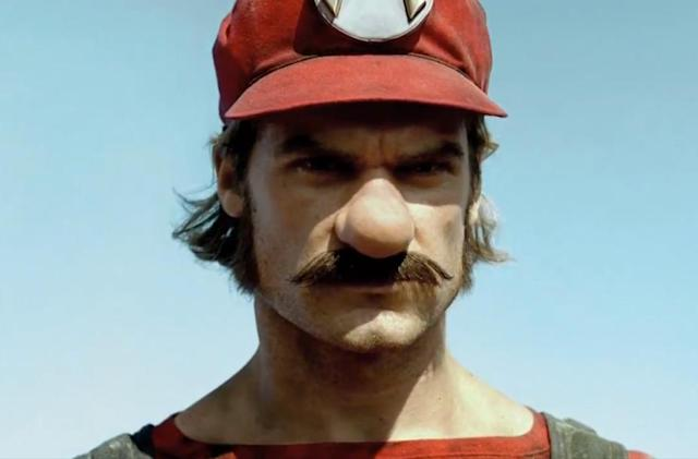 Real-world Mario is kind of a creep...