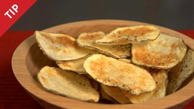 Make Potato Chips in Your Microwave