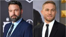 Ben Affleck and Charlie Hunnam Go Shirtless While Training for New Movie on the Beach -- See the Pics!