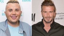 Teenager sparks outrage after splurging £20,000 in benefits to look like David Beckham