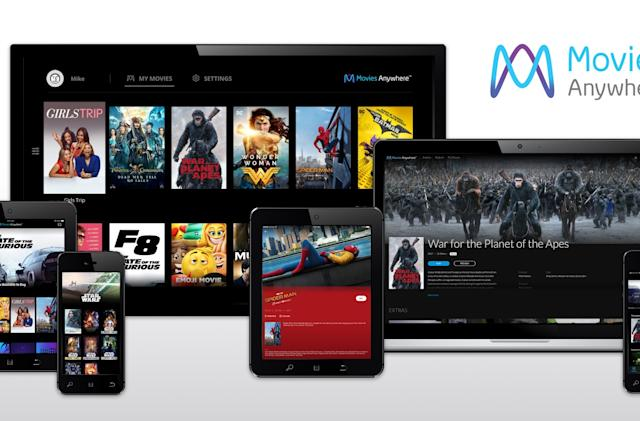Disney 'Movies Anywhere' adds flicks from Fox, Warner, Sony and Universal