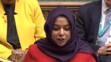 Labour MP becomes the first hijab-wearing woman to make a speech in the House of Commons