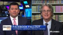 Roger McNamee: Facebook must stop making 'superficial' privacy fixes and change its business model