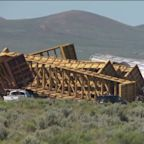 Train Carrying Military-Grade Munitions Derails in Nevada