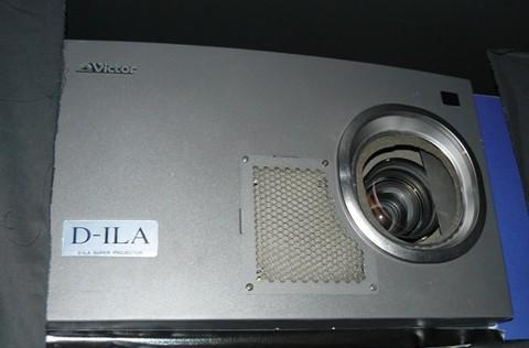 JVC shows off 8k x 4k D-ILA projector, asks when SHV is dropping by