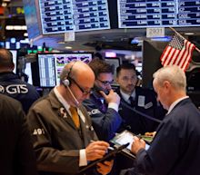 Stocks under pressure as Intel leads the Dow's triple-digit loss