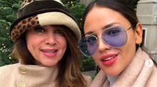 Eiza González y su madre: dos turistas más en Londres