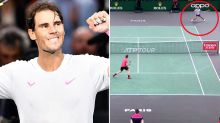 'No way': Commentators in disbelief over 'ridiculous' Rafa Nadal moment
