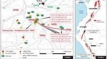 Max Resource Discovers a Second Extended High-Grade Copper-Silver Zone at the CESAR