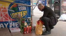 La solidaria historia tras la ofrenda de pizzas en memoria de cuatro indigentes asesinado