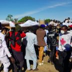 Mass burial held for farmers murdered by militants in Nigeria