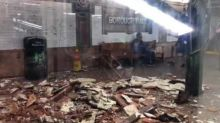 Subway Ceiling Collapses in Brooklyn, Injuring One