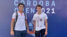 Argentina Open: Francisco Cerúndolo y su hermano Juan Manuel, a un partido de hacer historia en el tenis mundial