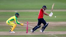 Dawid Malan rescues England to help set Australia 163 target in first T20