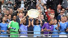 Manchester City beat Liverpool on penalties to win the Community Shield