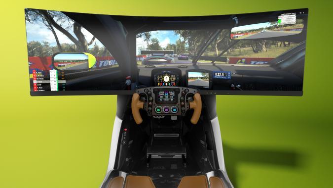 Aston Martin racing simulator AMR-C01