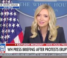 Kayleigh McEnany Insists Trump's Not 'Hiding' While Speaking for Him