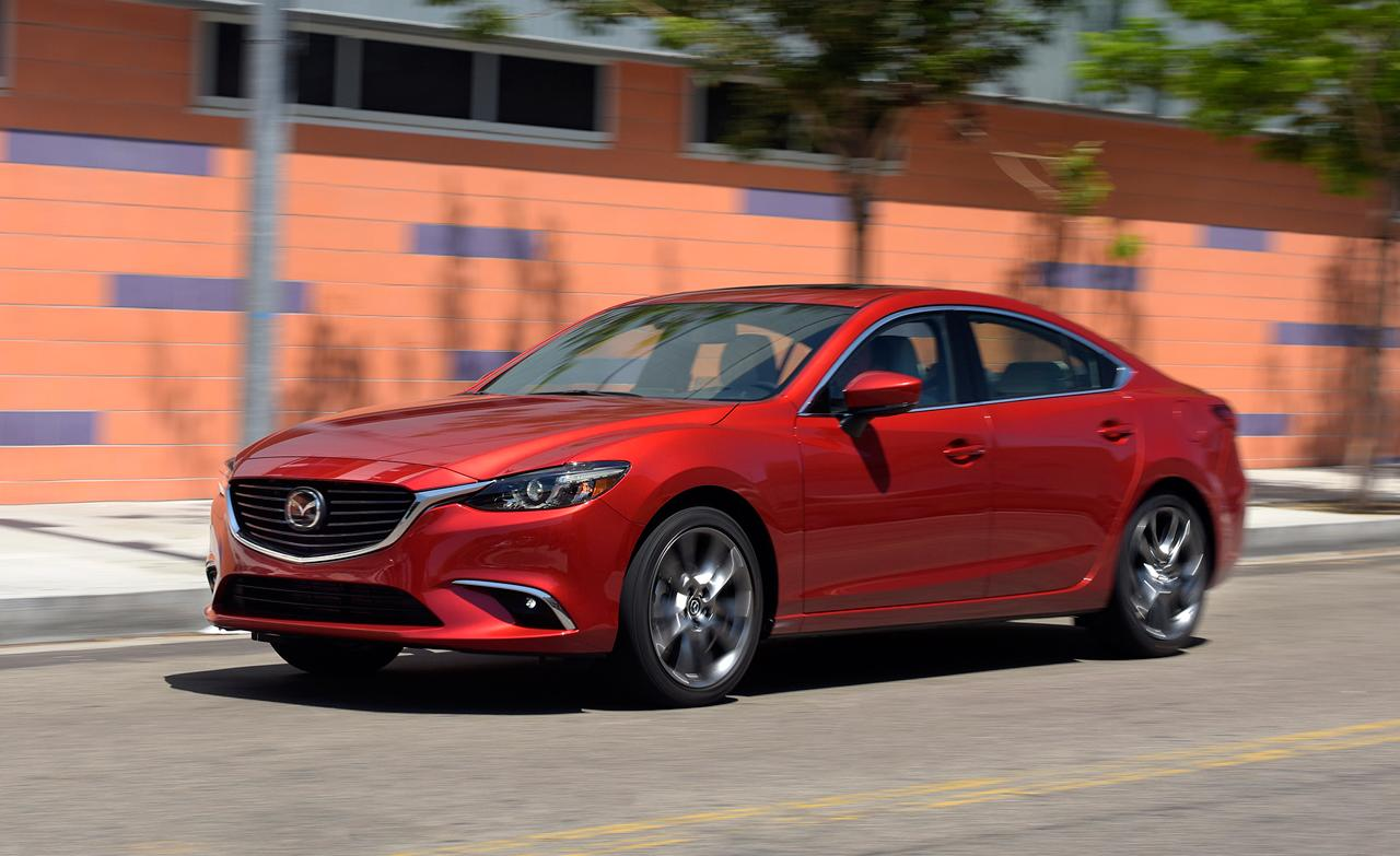 2017 mazda 6 debuts with g vectoring control more luxury. Black Bedroom Furniture Sets. Home Design Ideas