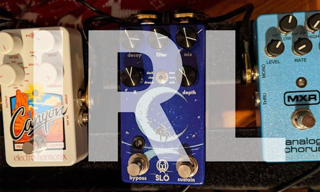 What we're buying: Slö reverb pedal and Glarry electric bass