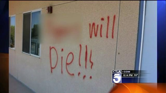 Reward Offered After Racist Graffiti Found at Local High School