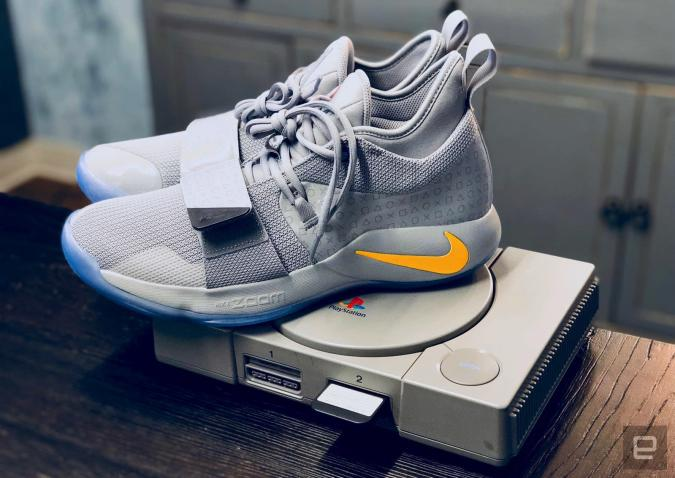 Nike's new PlayStation sneakers pay homage to Sony's classic console