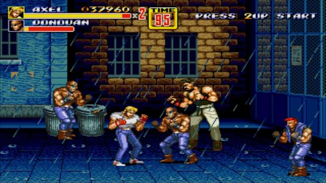 Sega adds 'Streets of Rage 2' and more to the Genesis Mini lineup