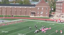 Wabash College kicker runs own blocked field goal in for touchdown (Video)