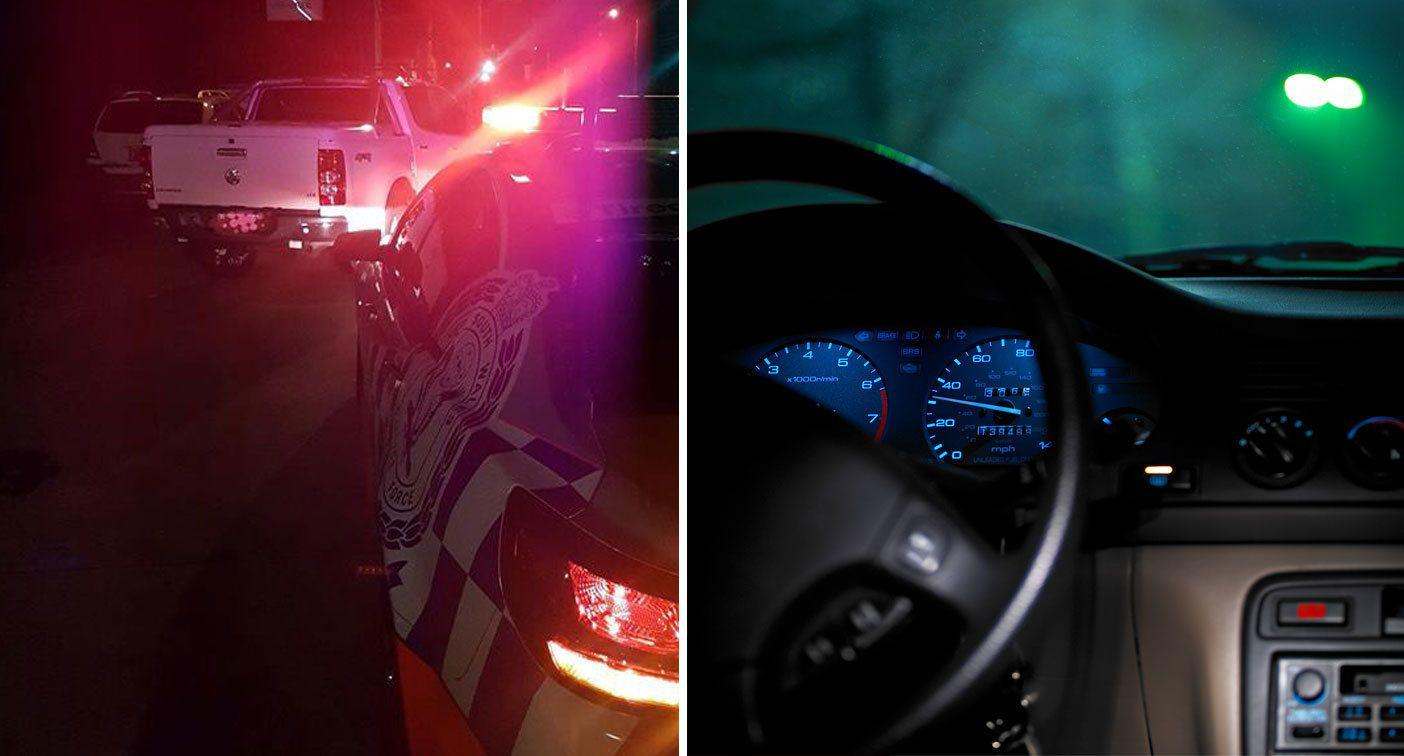 Man's attempt to drive home after being caught drink driving