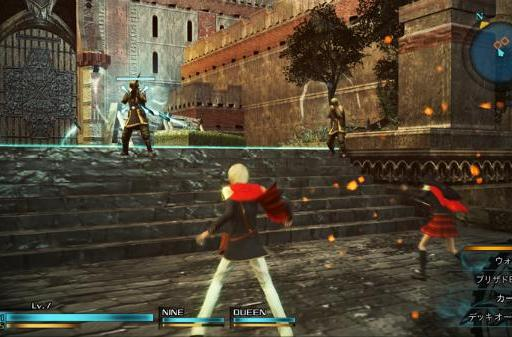 Final Fantasy Type-0 HD trailer shows before and after