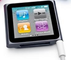 Hands on (and in) the iPod nano 6th generation reveals hints of video playback support