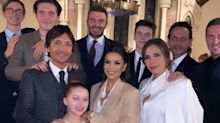 Victoria Beckham Shares Photos From Cruz And Harper's Star-Studded Christening