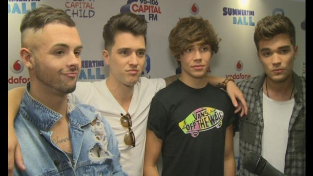 Union J talk new album and get excited over Cheryl Cole
