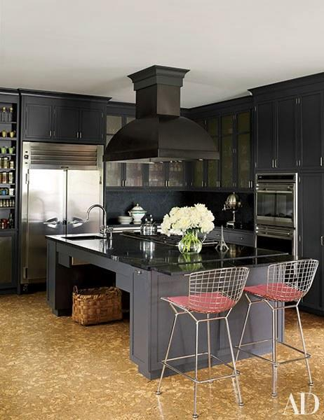 Kitchen paint colors ideas and inspiration - Cuisine moderne images architectural digest ...