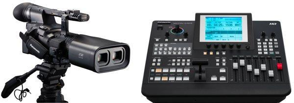 Panasonic goes 3D crazy with AG-3DA1 camcorder and AG-HMX100 video mixer